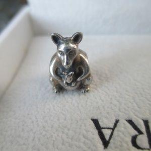 Pandora Kangaroo Charm 790534 Retired